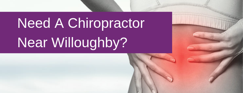 Chiropractor Willoughby Banner