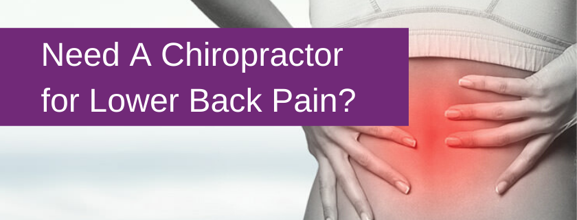 chiropractor lor lower back pain