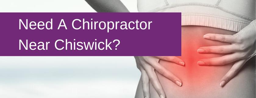 chiropractor chiswick banner