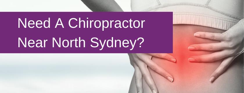 chiropractor north sydney banner